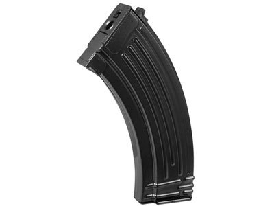 Ak47 Spring - Kalashnikov AK47 Magazine, Fits Spring-Powered & AEG Kalashnikov AK47 Airsoft Rifles, 600 Rds