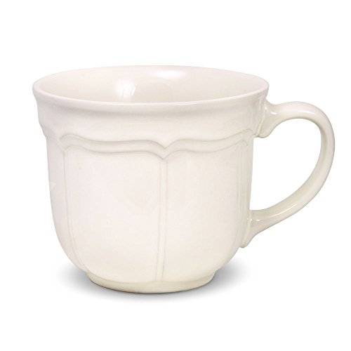 Mikasa French Countryside Jumbo Soup Mug with Lid, 18-Ounce ()