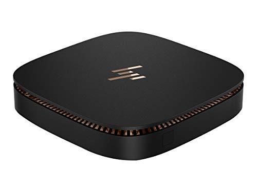 HP 3ZF16UT#ABA Elite Slice - Personal Computer - Ultra Small Form Factor - 8 GB RAM - 128 GB SSD - Intel HD Graphics - Black Sparkle/Metal Copper Finish