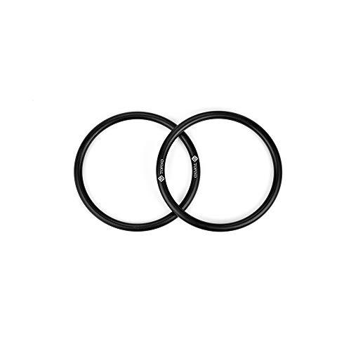 topind 7,6/cm Gr/ö/ße Aluminium Baby Sling Ringe f/ür Babyschalen /& Traget/ücher von 2/Pcs Gelb