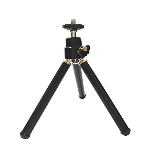 ARTlii Pico Projector Stand Protable Mini Video Projector Stand for Kids Men Or Women,Black