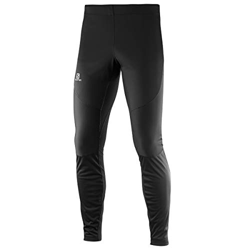 Salomon Men's Trail Runner WS Tight, Black, Large by Salomon (Image #9)