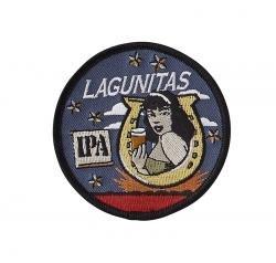 Logo Carabiner (Lagunitas Brewing Company - Horseshoe Girl Logo Patch - Lucky 13)