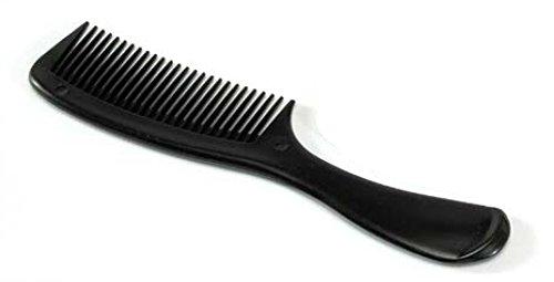 Club Classic Disposable 8.5'' Black Handle Comb (432 per case)