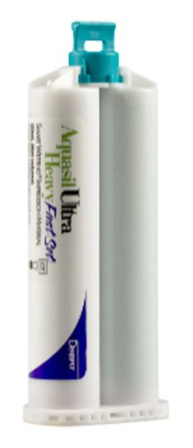 Dentsply 678776 Aquasil Ultra Smart Wetting Impression Material, Heavy, Cartridge Refill, Fast Set, Light Green, 50ml