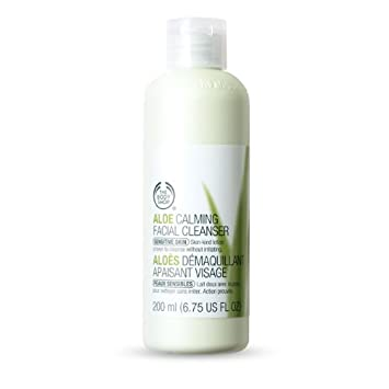 Aloe calming facial cleanser