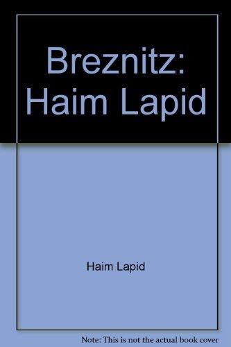 Breznitz: Haim Lapid Haim Lapid