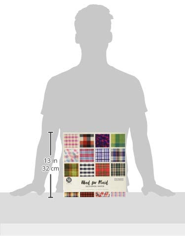12in Designer Paper Mad for Plaid (Style may vary)