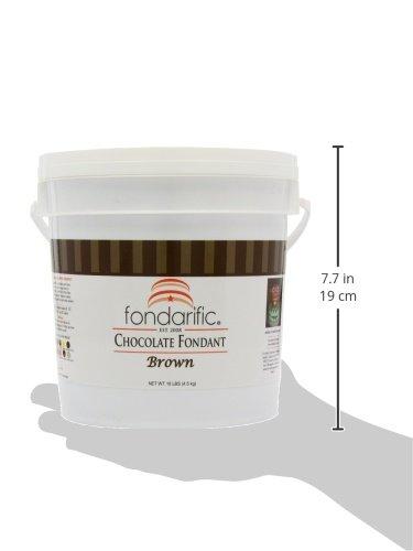 Fondarific Chocolatey Fondant, 10-Pounds by Fondarific (Image #9)