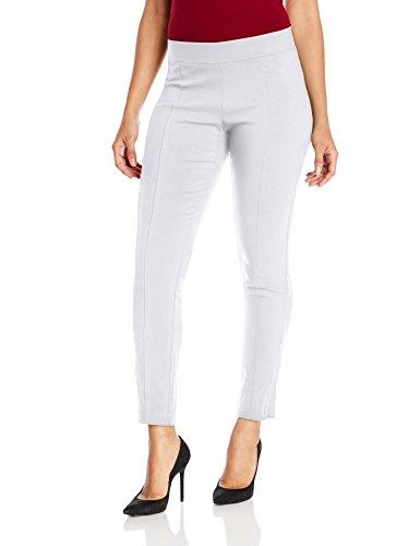 Rafaella Women's Petite Size Supreme Stretch Pant, White, 8P
