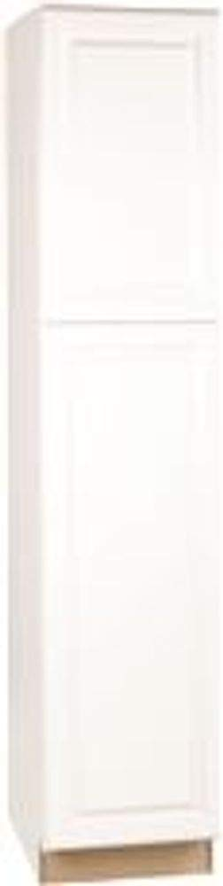 RSI HOME PRODUCTS SALES White Finish Assembled Pantry Cabinet, 18'' by 84'' by 24'' by Rsi Home Products Sales