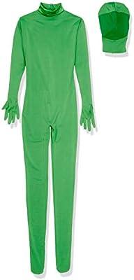Cablematic - Traje cromakey verde de dos piezas talla L ...