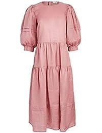 Women's Zigzag Ramie Midi Dress
