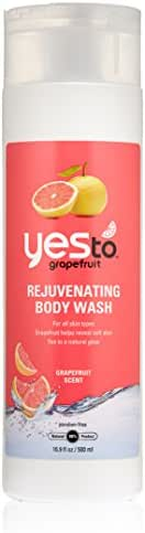 Body Washes & Gels: Yes To Rejuvenating