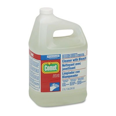 Comet Professional Cleaner with Bleach, 1 Gallon (Case of 3) Comet Disinfectant Cleaner