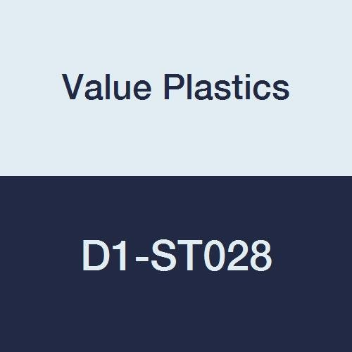 Value Plastics Straight Thru Connector 5//32ID Tube White Nylon 500 Series Barbs Pack of 10