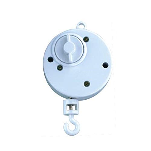 Baby Rotary Mobile Crib Bed Bell, Baby Musical Mobile Toys Windup Movement Music Box with Rotating Hook Toyfun