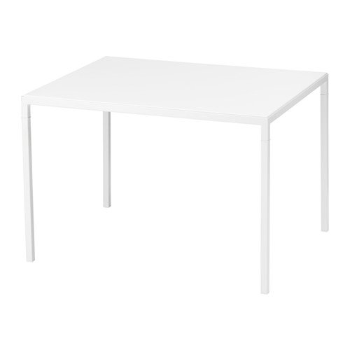 Ikea Coffee table w reversible table top, white/gray Size 29