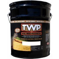 AMTECO DIVISION OF GEMINI INDUSTRIE TWP-1503-5 Low voc Exterior Oil Stain, 5 gal, Dark Oak