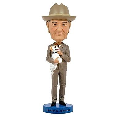 Lyndon B. Johnson Royal Bobbles Bobblehead Figurine