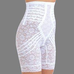 Rago Women's Hi Waist Long Leg Shaper, Beige, Medium (Extra Firm Control Long Leg)