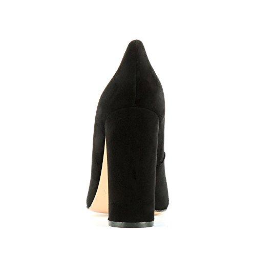 Piel de Otra vestir Zapatos Shoes negro Evita para Alina de mujer C7ZaUqw