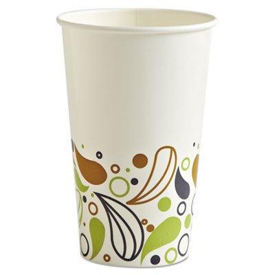 BWKDEER16CCUP - Deerfield Printed Paper Cold Cups