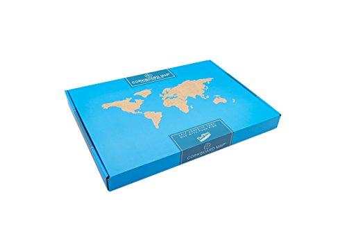 World Map Cork - 2