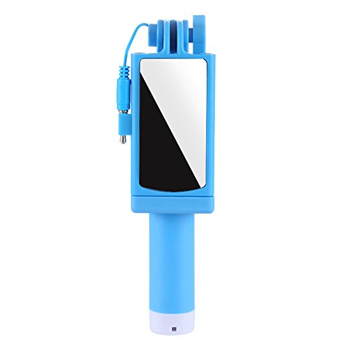Mini Selfie Stick, Cell Phone Selfie Sticks Extendable Mini All in One Wire Selfie Stick for Cellphone(iPhone, Android)