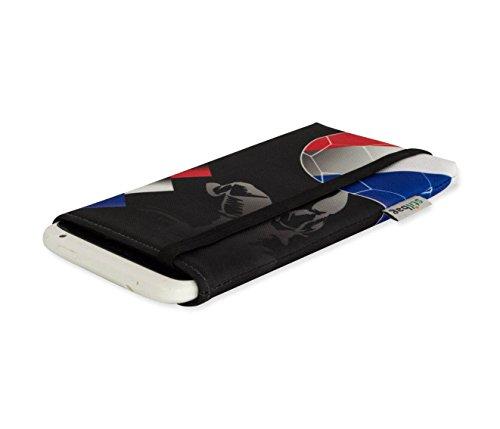 EM 2016 Fan Handytasche - Frankreich - Tasche für Apple iPhone 6 plus