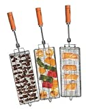 BBQ Rotisserie Grill Basket Kit