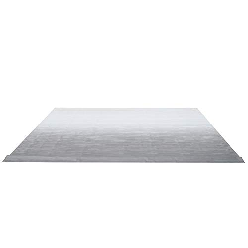 ALEKO RVFAB10X8GREY26 RV Awning Fabric Replacement 10 x 8 Feet Gray
