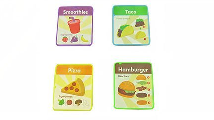 Fisher-Price Laugh & Learn Servin' Up Fun Food Truck - Replacement Menu Cards