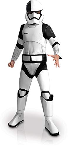 Rubie's Star Wars Episode VIII: The Last Jedi, Child's Deluxe Executioner Trooper Costume, Large]()