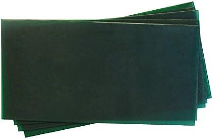 20 Gauge Jewelry Making Waxworking Casting Ferris 3 x 6 Firm Green Flexible Wax Sheets