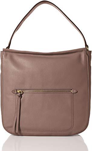 Cole Haan Jade Leather Bucket HOBO Bag, twilight ()