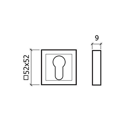 GLK 276/Jeu de bocallaves gris