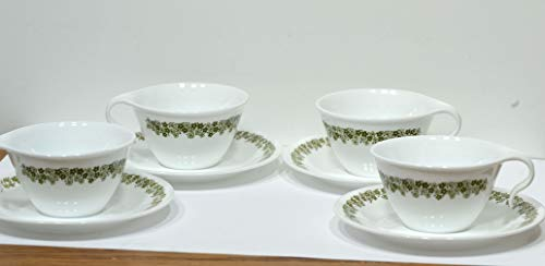 Corelle Spring Blossom (Crazy Daisy) Hook Handle Cups Set/4