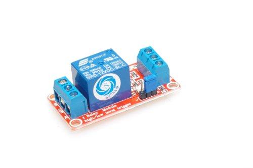 SMAKN® SRD-12VDC-SL-C 1 Channel DC 12V High/Low Level Power Relay Module Board