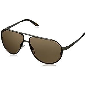 Carrera CA90S Aviator Sunglasses, Light Gold, 65 mm
