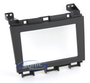 Metra 95-7427B Double DIN Installation Kit for 2009 Nissan Maxima (Black)