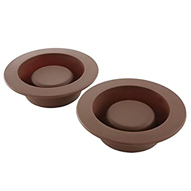 4 Brownie Bowl Mini Cake Molds Soft Silicone Novelty Round Dessert Baking Dishes
