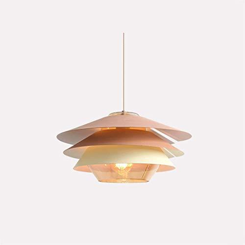 Chandelier/Hanging Lamp/Pendent Light, Large Multicolor Bedroom Living Room Bar Counter Art Decoration Led Light, BOSS - Pendant Amber Iron