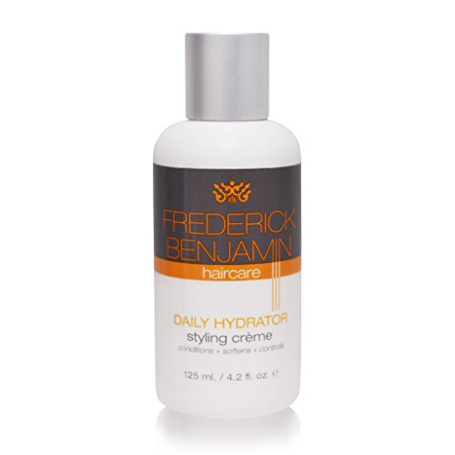 Frederick Benjamin Daily Hydrator Natural Hair Styling Cream For Men  Grease Free  Conditions Softens And Controls Hair  4 2 Ounce