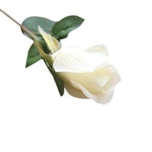 YJYdada 6 Pcs Pretty DIY Artificial Silk Fake Flowers Rose Floral Wedding Home Decor 3