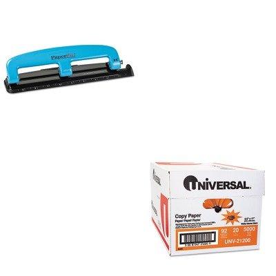 KITACI2103UNV21200 - Value Kit - Paperpro 12-Sheet Capacity Compact Three-Hole Punch (ACI2103) and Universal Copy Paper (UNV21200)