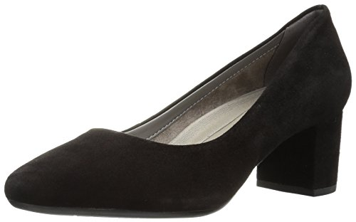 Aerosoles Women's Silver Star Pump, black suede, 8.5 M US