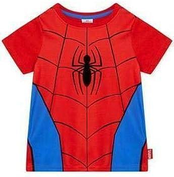 Marvel Spider-Man Classic Niños Traje Corto Pijamas: Amazon.es: Ropa y accesorios