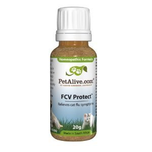 Homeopathic FCV Protect – Homeopathic product to temporarily relieve sneezing, nasal congestion and watery eyes in your cat, My Pet Supplies