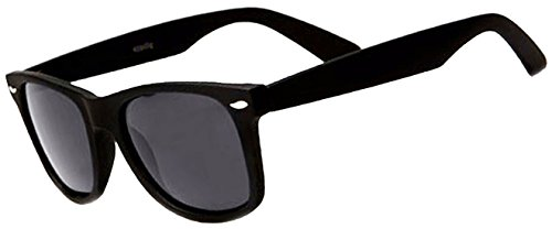 Classic Adult Eyewear 53mm POLARIZED Caminantes Wayfarers Sunglasses (Matte Black, - Sunglasses Black Cheap Wayfarer